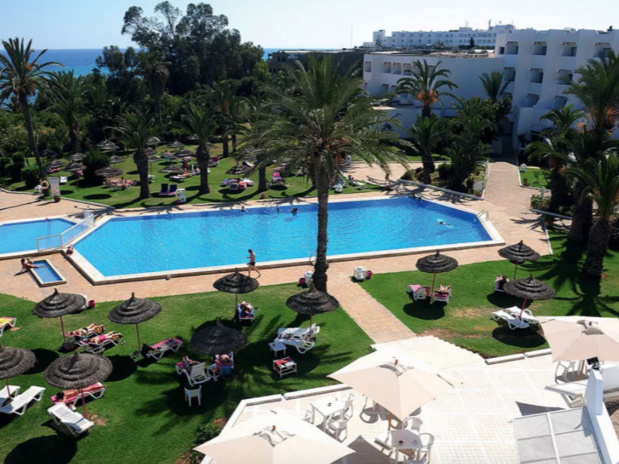 Le nouveau club Marmara Palm Beach d'Hammamet en Tunisie © TUI France