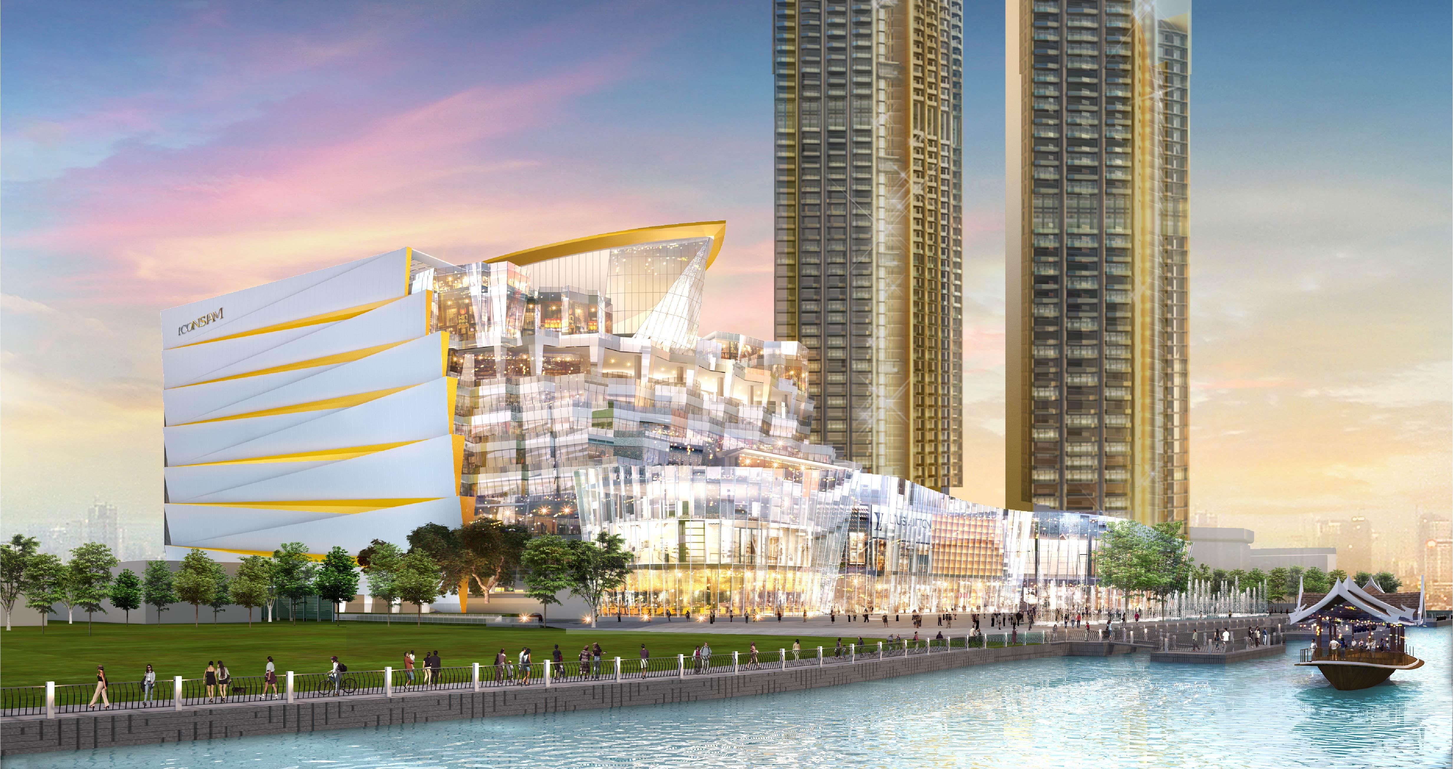 Le complexe Icon Siam, à Bangkok, sera inauguré en octobre 2018. - DR