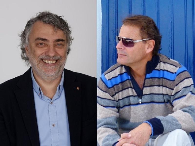 """Patrick Gaudfrin et Philippe Rossi ont co-signé le guide """"Les solutions pour payer vos croisières moins cher"""" - DR"""