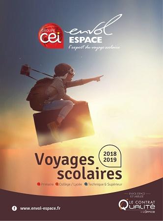 La brochure d'Envol Espace - DR