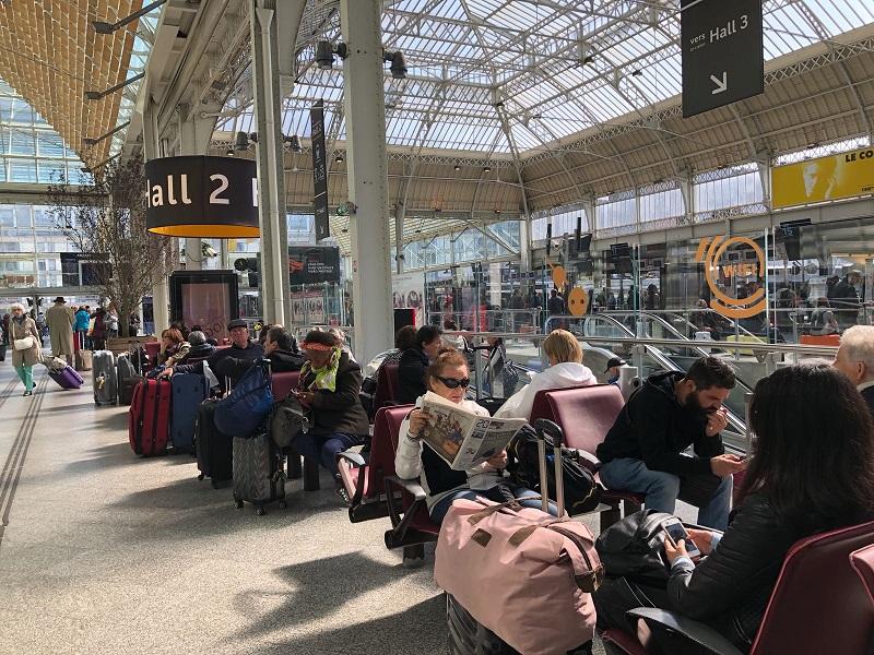 En moyenne un train sur deux ce 24 mai 2018 - crédit photo : TourMaG.com JdL