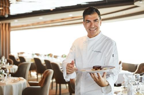 Depuis le mois d'avril, le Chef Freixa a introduit des plats signature à bord des navires de MSC Croisières - DR