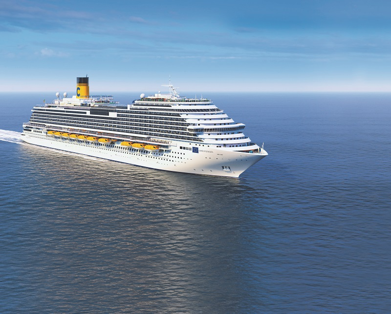 En 2019, le Costa Venezia sera livré - Costa Croisières DR