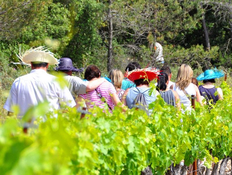 Mon beau terroir aide les agriculteurs à concevoir des visites pour les groupes constitués - Crédit photo : Mon beau terroir