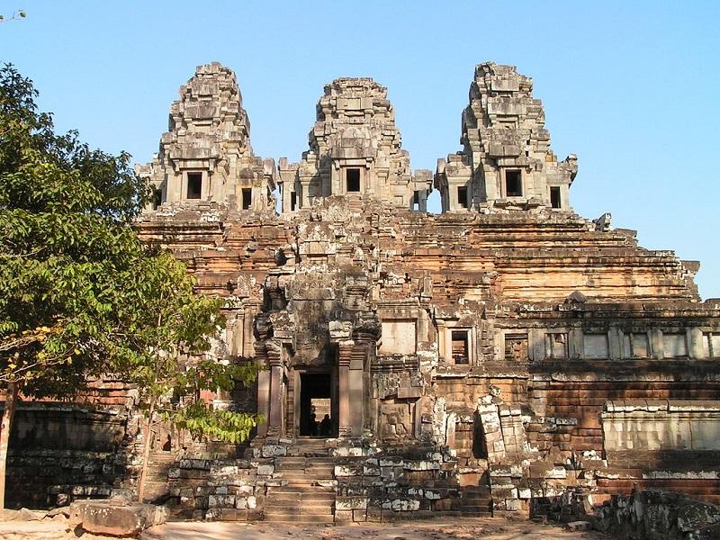 Le temple d'Angkor est inscrit au patrimoine mondial de l'Unesco - crédit photo David Wilmot Wikicommons