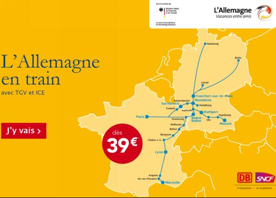 Allemagne : l'ONAT et DB-SNCF font campagne auprès du marché français