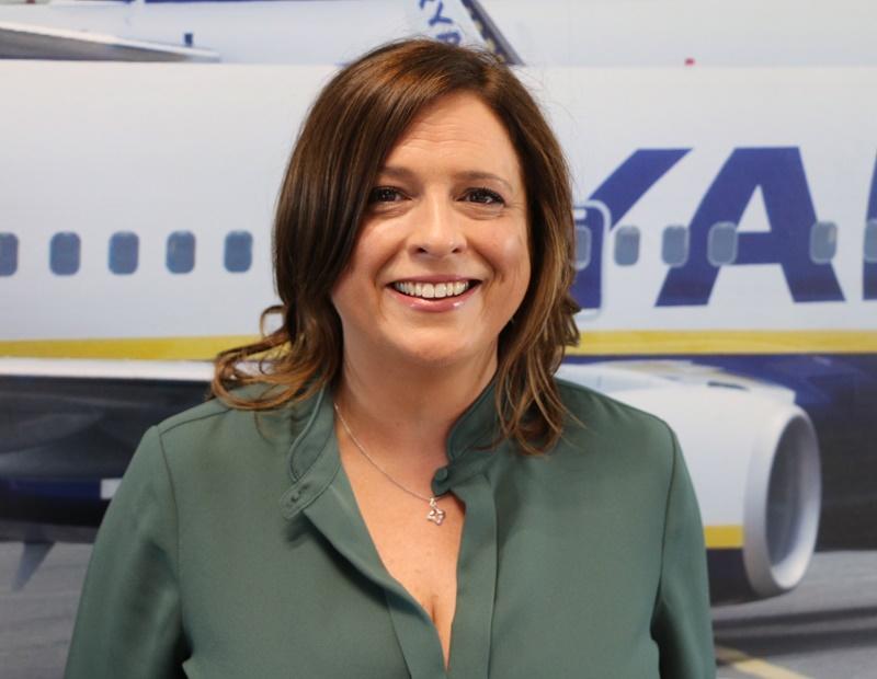 Carol Sharkey assumera la responsabilité de l'ensemble de l'évaluation des risques opérationnels - DR : Ryanair