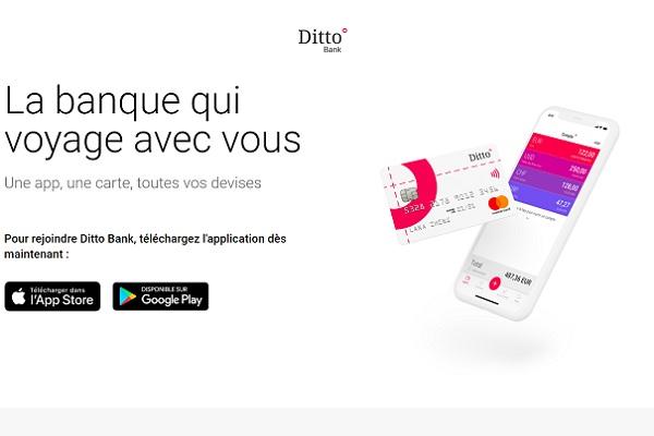 Ditto Bank est la nouvelle banque des voyageurs d'affaires - Crédit photo : Ditto Bank