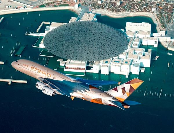 Etihad Airways : des Airbus A380 pour la ligne Abu Dhabi et Paris - Crédit photo : Etihad