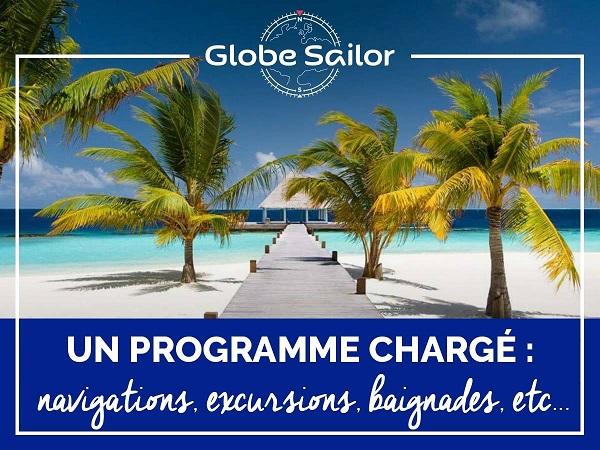 GlobeSailor propose le premier service de conciergerie en mer - Crédit photo : GlobeSailor