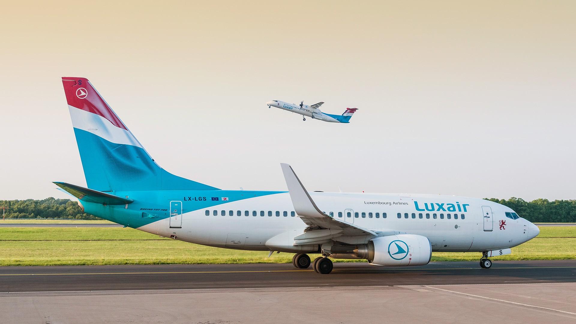 Vols perturbés pour Luxair /crédit photo Luxair