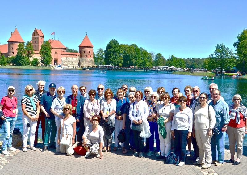 Les membres viennent de visiter les Pays Baltes, du 31 mai au 07 juin 2018 - DR : AFST