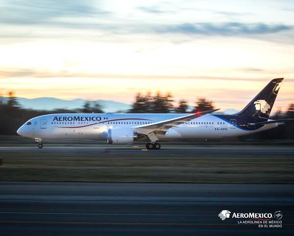 Aeromexico, deux nouvelles lignes dès novembre 2018 - Crédit photo : Aeromexico