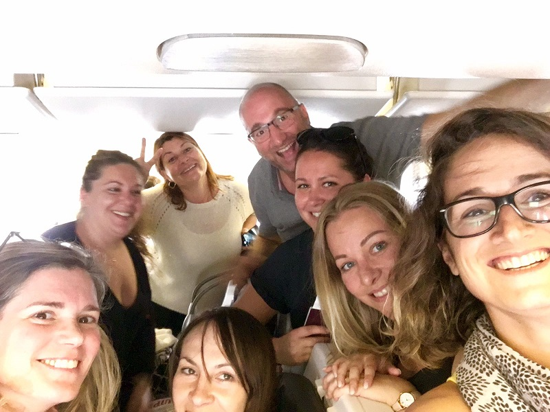 Les 8 gagants du challenge de ventes Air France MisterFly