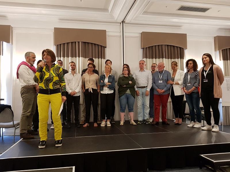 L'équipe du CEDIV lors de la clôture du Convenc'Tour 2018 - CE