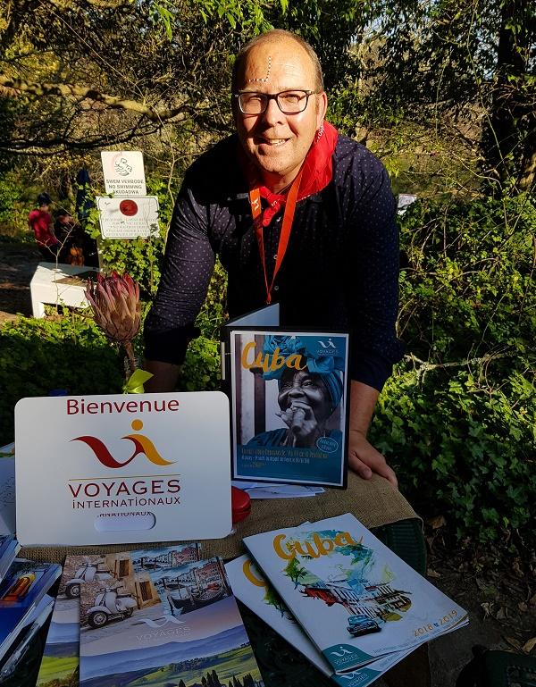 Christophe Troalic, directeur commercial de Voyages Internationaux lors du Workshop organisé à la Convention CEDIV en Afrique du Sud - Photo CE