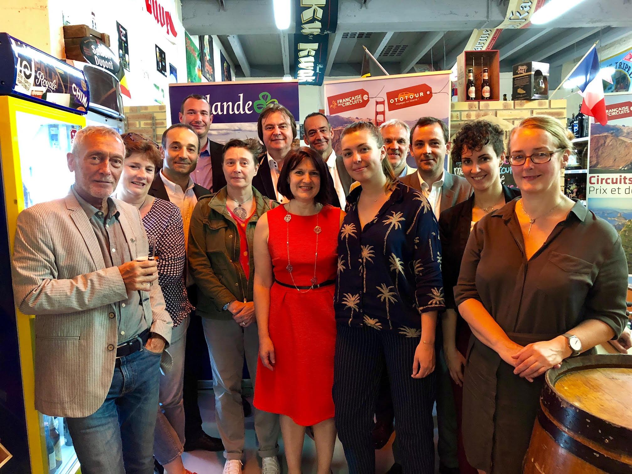 La Française des Circuits et leurs partenaires de l'Office du tourisme d'Irlande /crédit photo JDL