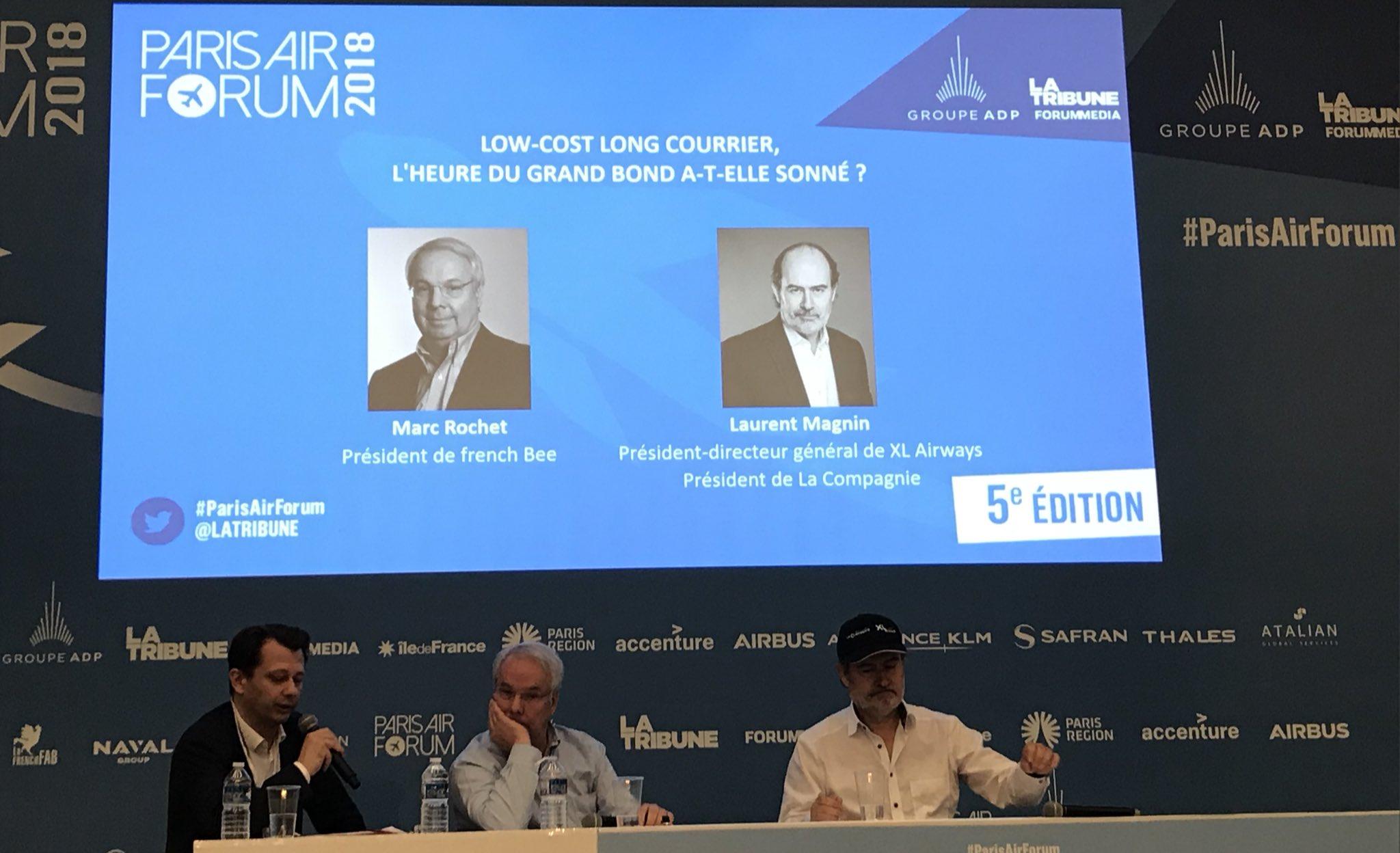 Pour Laurent Magnin et Marc Rochet, les deux pointures de l'aérien français, le succès du low-cost long-courrier ne fait plus aucun doute ©DR