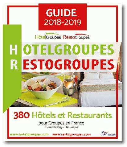 Hotelgroupes-Restogroupes fait paraître son nouveau guide 2018