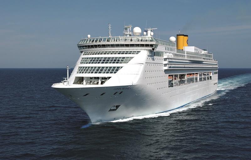 Mise à flot du Costa Venezia, le premier navire de Costa Croisières spécialement construit pour le marché chinois - Photo Costa