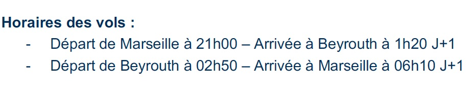 Aigle Azur : premier décollage pour la ligne Marseille-Beyrouth