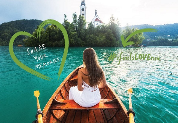 #ifeelsLOVEnia, la campagne digitale de l'office du tourisme Slovène - Crédit photo : compte Facebook @slovenia.info