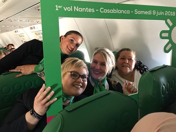 Transavia fait le plein de nouveautés à Nantes - Crédit photo : Transavia