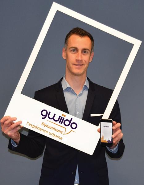 Julien Saiani le fondateur de Gwiido - Crédit photo : Gwiido