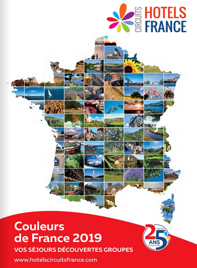 Le nouveau catalogue Hôtels Circuits France est en ligne sur Brochuresenligne.com - DR