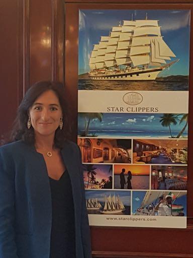 Eliana Bouvet, responsable ventes et marketing - DR : Star Clippers