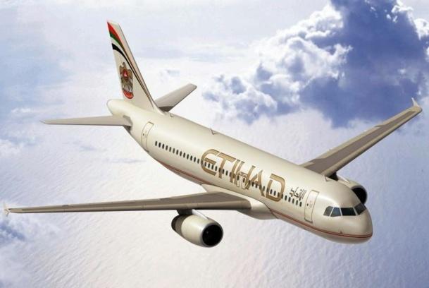 Etihad (photo ci-dessus), mais aussi Emirates, Qatar et consorts auraient touché 50 milliards d'euros de subventions directes .... - Photo Etihad