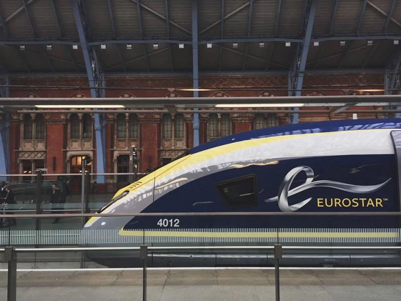 Ces trains à « bas coûts » quitteraient Paris depuis la gare de Roissy CDG vers la station de Stratford, dans la banlieue de Londres - DR : Page Facebook Eurostar