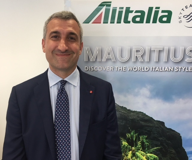 Aldo D'Elia nouveau country manager France d'Alitalia - DR
