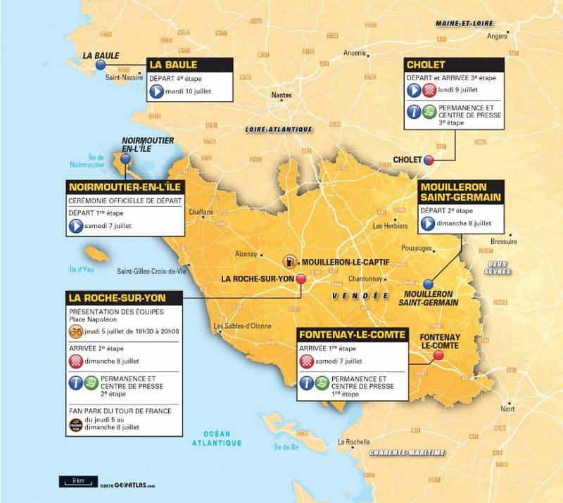 La Vendée accueille le Grand Départ 2018 - DR : ASO