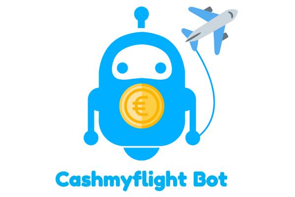 Cashmyflight, se faire rembourser son vol annulé sur Facebook grâce à un bot - Crédit photo : Cashmyflight Bot