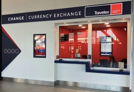 Travelex a ouvert un 2e bureau de change à Lyon Saint-Exupéry - DR