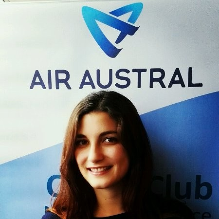 Anaïs Cassard représentante commerciale pour Air Austral et Air Madagascar