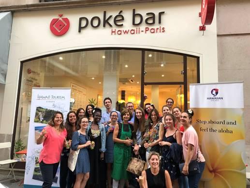 Joindre l'utile à l'agréable au Poké Bar avec l'OT d'Hawaii - credit  photo : Hawai'i Tourism Authority