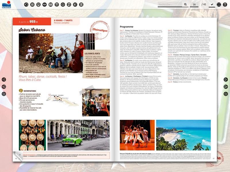 Havanatour a créé une brochure groupe en avril dernier