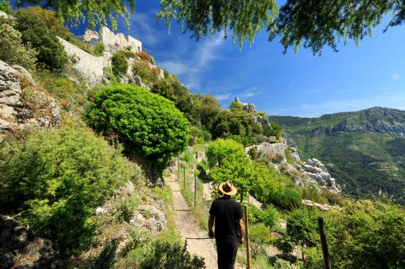Les marcheurs trouveront leur compte à venir faire un tour dans ces hauteurs - DR : Camille Moirenc - CRT Côte d'Azur