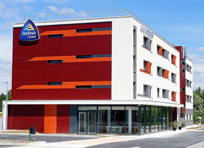 Akena Hôtels a ouvert un hôtel de 60 chambres à Besançon - DR