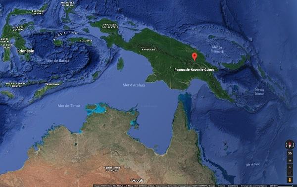 Papouasie-Nouvelle-Guinée, entre violence et épidémie de poliomyélite - Crédit photo : Google Maps