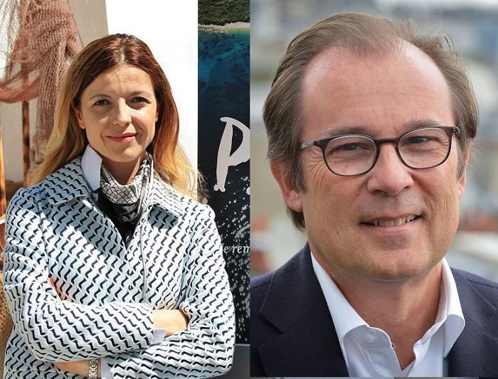 Daniela Mihalic Durica, directrice de l'Office National Croate de tourisme et Christian Mantei, directeur général d'Atout France - DR Andriana Luic - O. Gombert