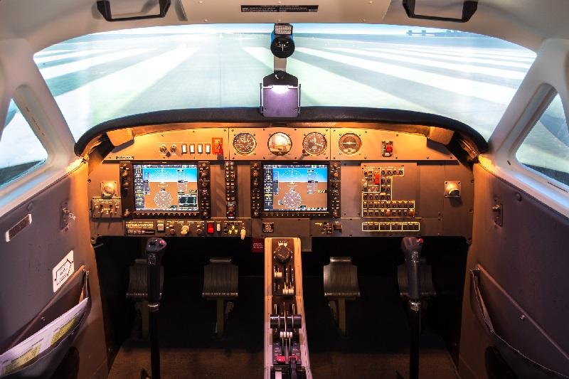Safe Flight Academy opère un simulateur « Mechtronix FNPT II, DA42 NG » Pour la formation IFR et Vol Sans Visibilité - DR