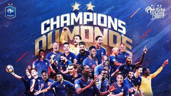 Champions du Monde - Crédit: FFF