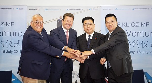Air France - KLM, China Southern Airlines et Xiamen Airlines deviennent une coentreprise - Crédit photo : Air France - KLM