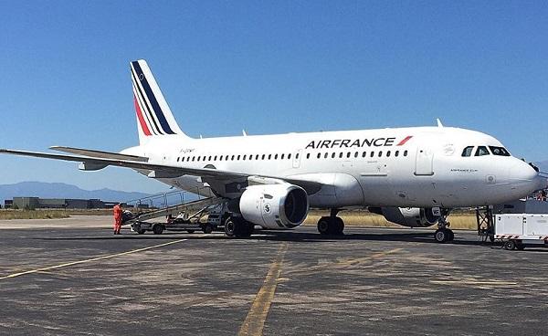 Air France, trop fatigué l'équipage annule le vol inaugural - Crédit photo : compte Facebook @AeroportPerpignan