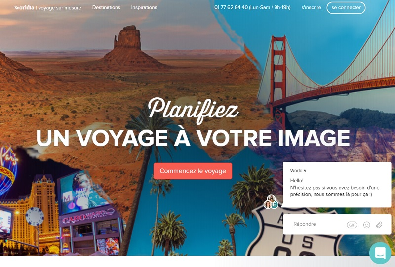 Le site worldia propose sa production aux agents de voyages - DR