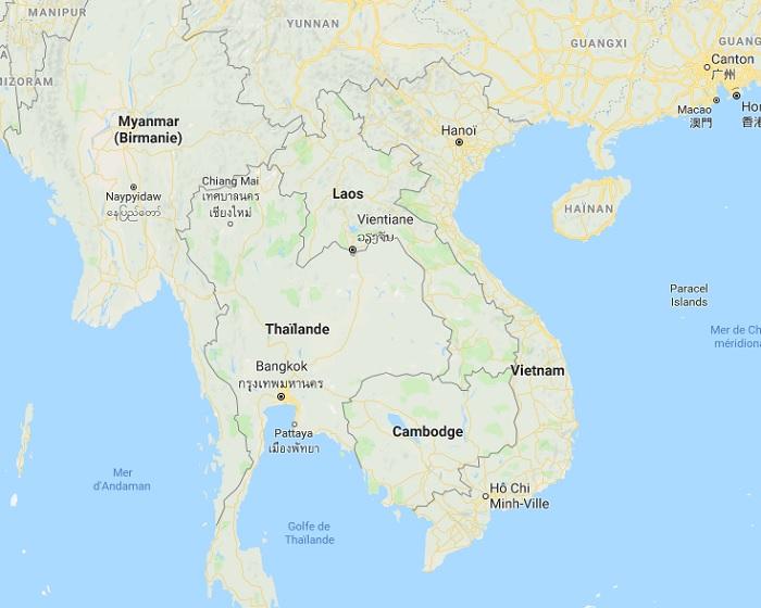 La tempête tropicale Henry pourrait toucher le Laos dès le 18 juillet 2018 - DR