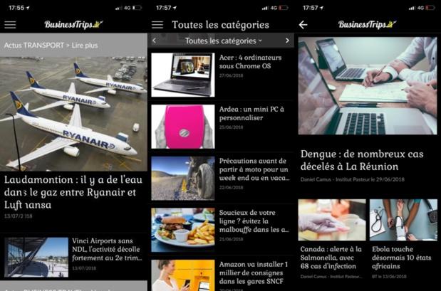 BusinessTrips la nouvelle Webapp lancée par TourMaG.com pour les voyageurs affaires - DR